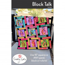 Block Talk Quilt Sewing Pattern by Swirly Girls Design