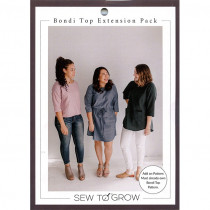 Bondi Top Extension Pack Sewing Pattern by Sew To Grow