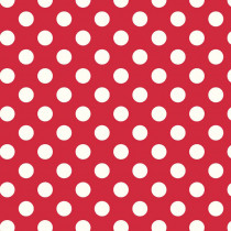 Le Creme Medium Dot Red by Riley Blake Designs