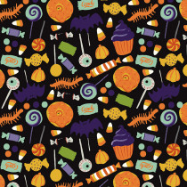 Hocus Pocus Main Black by Riley Blake Designs