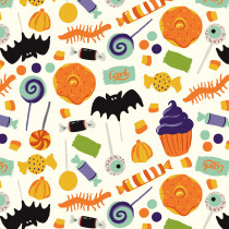 Hocus Pocus Main Cream by Riley Blake Designs