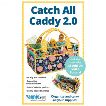 Catch All Caddy 2.0 Sewing Pattern byAnnie