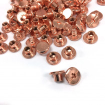 "Emmaline Bags Chicago Screws Small 10mm x 4mm (3/8"" x 3/16"") in Copper - 50pk"