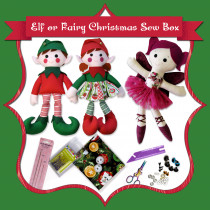 Christmas Toy Making Sew Box - now shipping