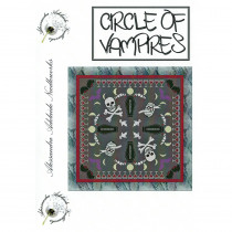 Circle of Vampires Cross Stitch Chart from Alessandra Adelaide Needlework