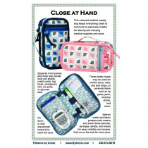 Close At Hand Bag Sewing Pattern byAnnie