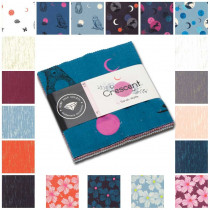 "Ruby Star Society Crescent & Brushed 5"" Charm Pack 42pc by Moda Fabrics"