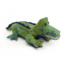 Funky Friends Factory Crocodile Steve Green Batik Soft Toy Making Kit