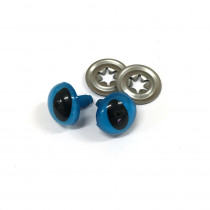 "Toy Eyes Cat - 12mm (1/2"") Blue - 10pk (5 Pairs)"