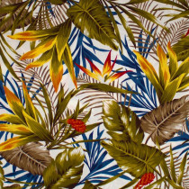 Hawaiian Leaves Natural by Cosmo Textiles