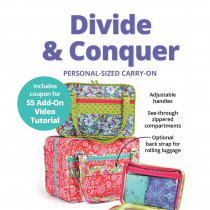 Divide & Conquer Personal Sized Carry-on Bag Sewing Pattern from byAnnie