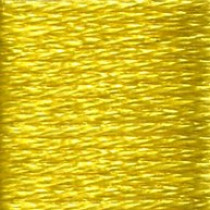 DMC Satin S307 Citrus Embroidery Floss