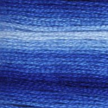 DMC Stranded Embroidery Floss 121 Variegated Delft Blue