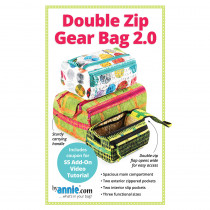 Double Zip Gear Bag 2.0 Sewing Pattern byAnnie