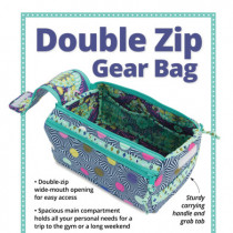 Double Zip Gear Bag Sewing Pattern byAnnie