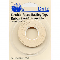"Dritz Double-Faced Basting Tape 1/8"" x 8-1/3yd"