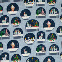 Fa La La Llama Arctic by Dear Stella Fabric Design