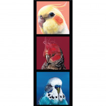 """Chris Riley Collection 40.5cm (16"""") Tri-Panel Budgies by Devonstone Collection"""