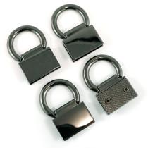 Emmaline Bags Strap Anchor Edge Connector Gunmetal (4 pack)