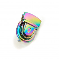 Emmaline Bags Press Lock Iridescent Rainbow