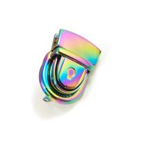 Emmaline Bags Press Lock Iridescent Rainbow