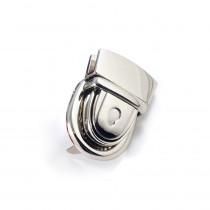 Emmaline Bags Press Lock Silver