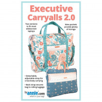 Executive Carryalls Bag 2.0 Sewing Pattern from byAnnie
