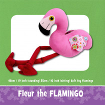 Fleur the Flamingo Toy Pattern
