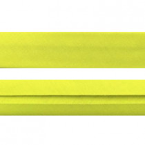 "12mm (1/2"") Single Fold 100% Cotton Bias Binding Yellow"