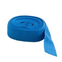 """byAnnie Fold-over Nylon elastic 15mm (5/8"""") wide x 1.8m (2yd) Blast Off Blue"""