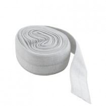 "byAnnie Fold-over Nylon elastic 15mm (5/8"") wide x 1.8m (2yd) Grey"