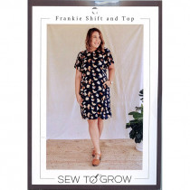 Frankie Shift and Top Sewing Pattern by Sew To Grow