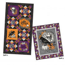 Wicked Fright Night Quilts 2&3 Kit