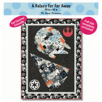 A Galaxy Far Far Away Quilt Pattern from The Whimsical Workshop