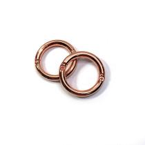 "Emmaline Bags Gate O-Ring Copper 25mm (1"") - 2pk"