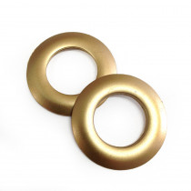 "Voodoo Bag Hardware Plastic Snap Together Grommet 25mm (1"") Matte Gold"