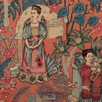 Frida's Garden (LIGHT WEIGHT) Terracotta by Alexander Henry