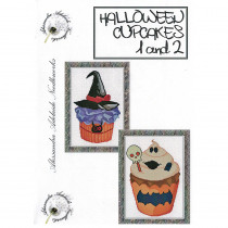 Halloween Cupcakes 1 and 2 Cross Stitch Chart from Alessandra Adelaide Needlework