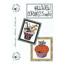 Halloween Cupcakes 5 and 6 Cross Stitch Chart from Alessandra Adelaide Needlework