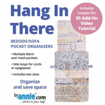 Hang In There Pocket Organisers Sewing Pattern from byAnnie