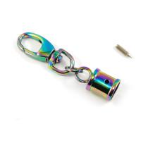Emmaline Bags Hanging Tassel Cap Iridescent Rainbow