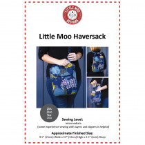 Little Moo Haversack Bag Sewing Pattern by Little Moo Designs