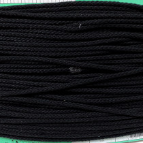 Uni-trim Hood Cord 6mm Black