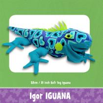 Igor Iguana Toy Pattern by Funky Friends Factory