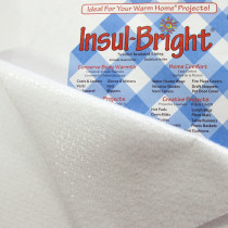 "Insul-Bright Needled Insulated Lining 55cm (22"") wide by The Warm Company"