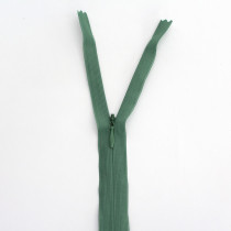 "Vizzy Invisible Zipper Dusty Green 25cm (10"") - 55cm (22"")"