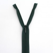 "Vizzy Invisible Zipper Hunter Green 25cm (10"") - 55cm (22"")"