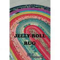 Jelly Roll Rug Sewing Pattern by RJ Designs