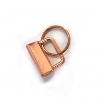 "Voodoo Bag Hardware Key Fob Hardware 25mm (1"") Copper - 5pk"