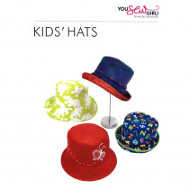 Kids Hats Pattern by You Sew Girl